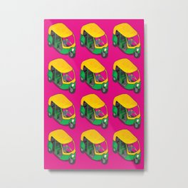 Kitsch Auto Wala Metal Print