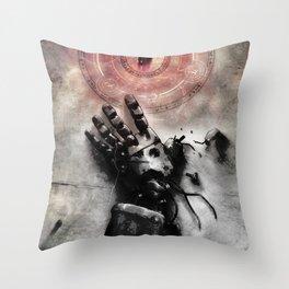 Philosopher's stone Throw Pillow