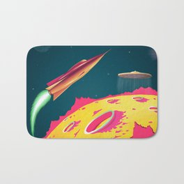 FLYING SAUCERS ATTACK Bath Mat