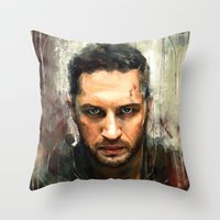 mad max Throw Pillows featuring Mad Max by Wisesnail