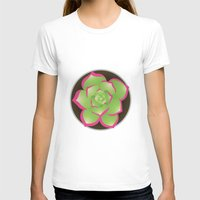 succulent T-shirts featuring Succulent by j-bott
