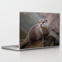 otter Laptop & iPad Skins featuring Otter by SomniumStudios.co.uk