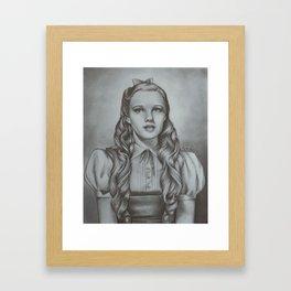 Dorothy - Judy Garland | Drawing Framed Art Print