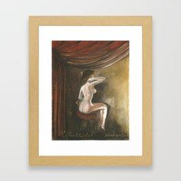 The Scarlet Tikvah Framed Art Print