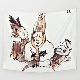 Los Caprichos ~ 24 ~ No Help Wall Tapestry