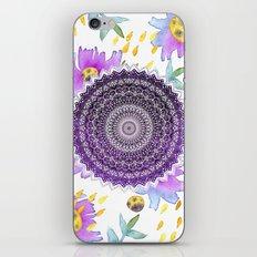 BLOOM MANDALA iPhone & iPod Skin