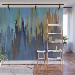 City in the Sky Wall Mural