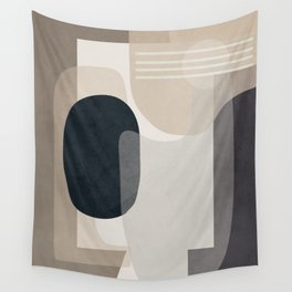 Abstract Geometric Art 52 Wall Tapestry