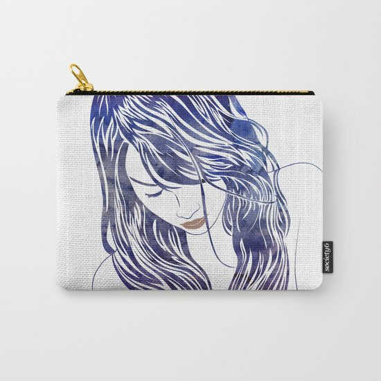 Tresses Carry-All Pouch