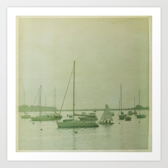 Searching For The Anchor Art Print