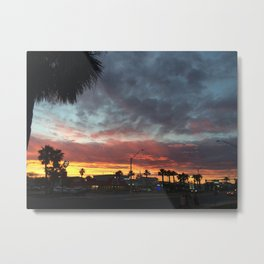 8:00 North Metal Print