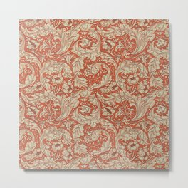 "William Morris ""Bachelors Button"" 1. Metal Print"