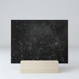 Bokeh Snowfall 2 Mini Art Print