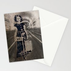 leaving it all behind Stationery Cards