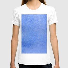 Azure watercolor T-shirt