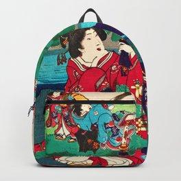 Toyohara Kunichika - Genji Story Backpack