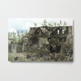 Nature Is Stronger Metal Print