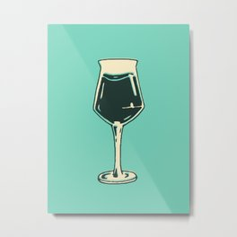 Teku Glass Poster Metal Print