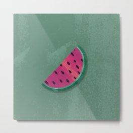 Break Me Off A Slice Of That... Watermelon! Metal Print