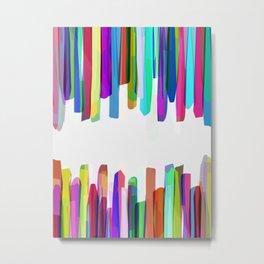 Colorful Stripes 3 Metal Print