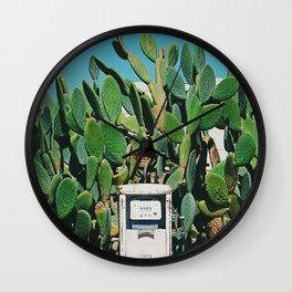 Cactus IV Wall Clock