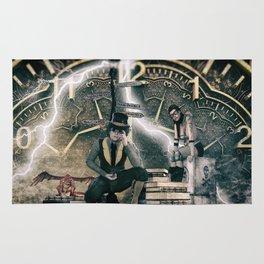 Steampunk background Rug