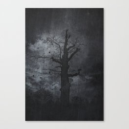 The dirty winter spirit Canvas Print