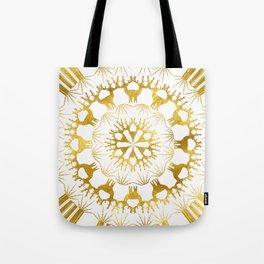 Gold Christmas 05 Tote Bag