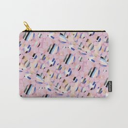 Pink Abstract Platelet #expressive #pink Carry-All Pouch