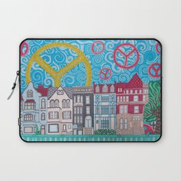 peace on dupont circle Laptop Sleeve