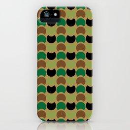 Hob Nob Camo iPhone Case