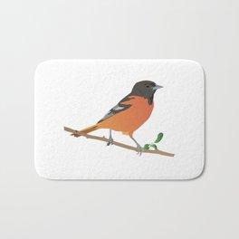 Baltimore Oriole Bird Bath Mat