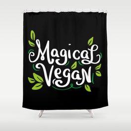 Magical Vegan Shower Curtain