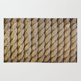 texture Ropes tether Rug