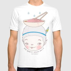 맛! Bon appetit bizarre nouille restaurant ! MEDIUM White Mens Fitted Tee