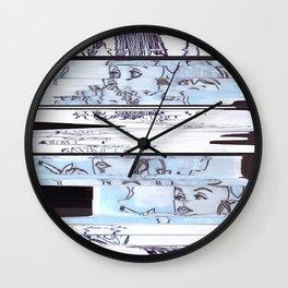Autistic Remix #002 Wall Clock
