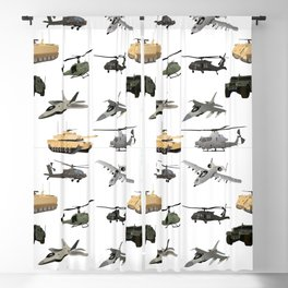 American Military Pattern Blackout Curtain
