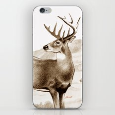 White-tailed Stag Sniffing the Air iPhone Skin