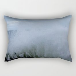 A Gale to Blow the Year Out #2 (Chicago Waves Collection) Rectangular Pillow