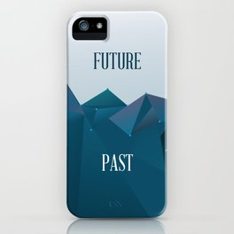 Past and Future iPhone Case