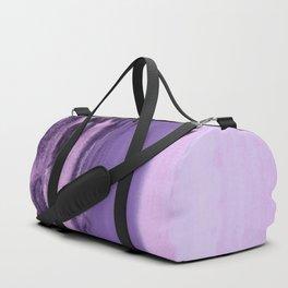 watercolor landscape - purple Duffle Bag