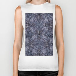 Feathers and bones-the blues Biker Tank