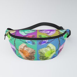 Poppies are Wild Fanny Pack