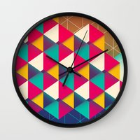 scales Wall Clocks featuring Scales  by sixsixtysix