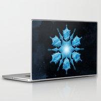 snowflake Laptop & iPad Skins featuring Snowflake by Salih Gonenli