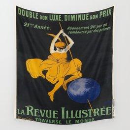 Vintage poster - La Revue Illustree Wall Tapestry