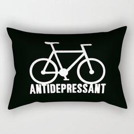 Bike = Antidepressant Rectangular Pillow