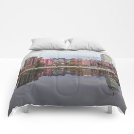 Pink Reflections Comforters