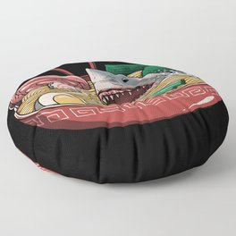 Ramen Shark Floor Pillow