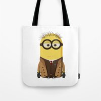 doctor who Tote Bags featuring Doctor Who by Henrik Norberg